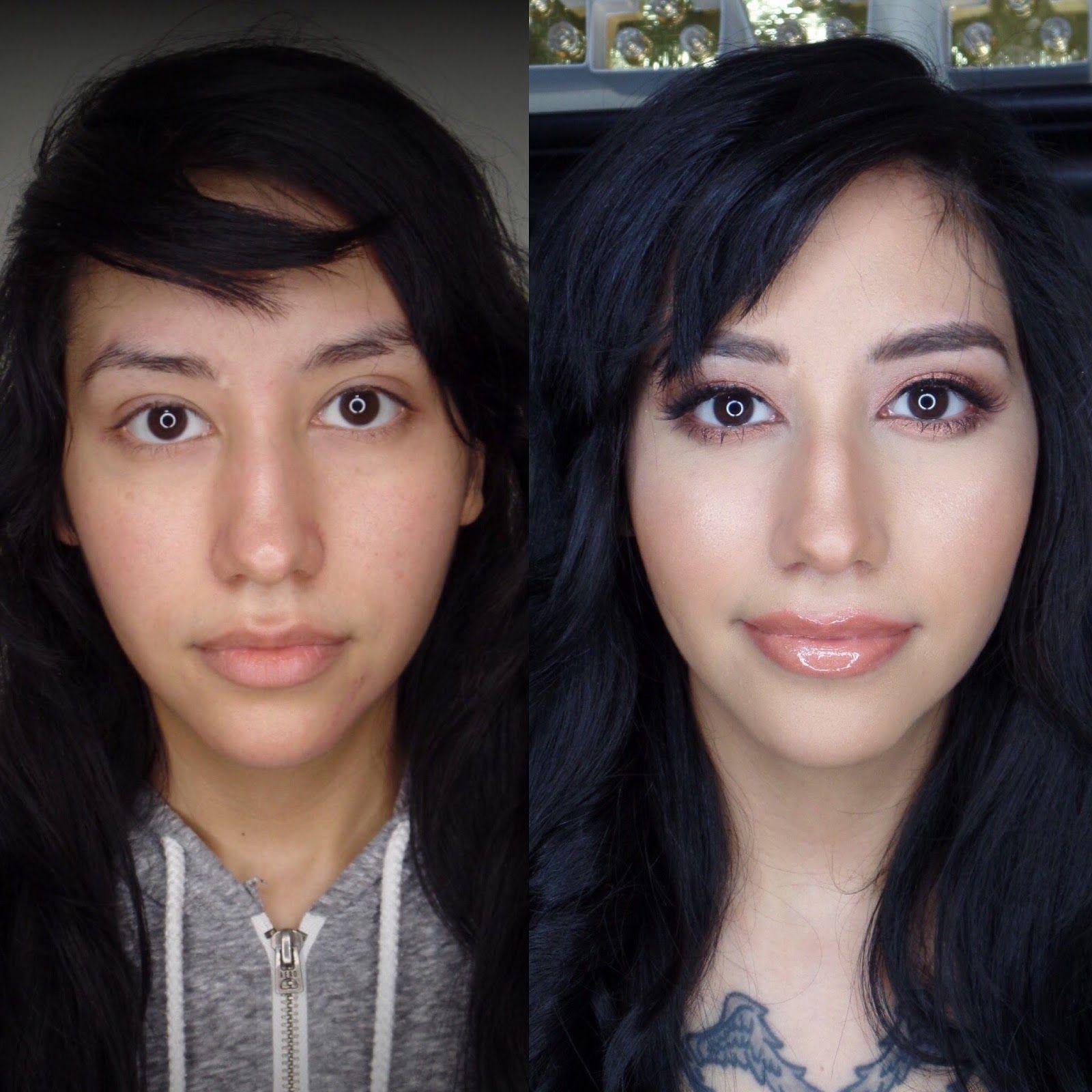 San Antonio makeup artist natural makeup before and after