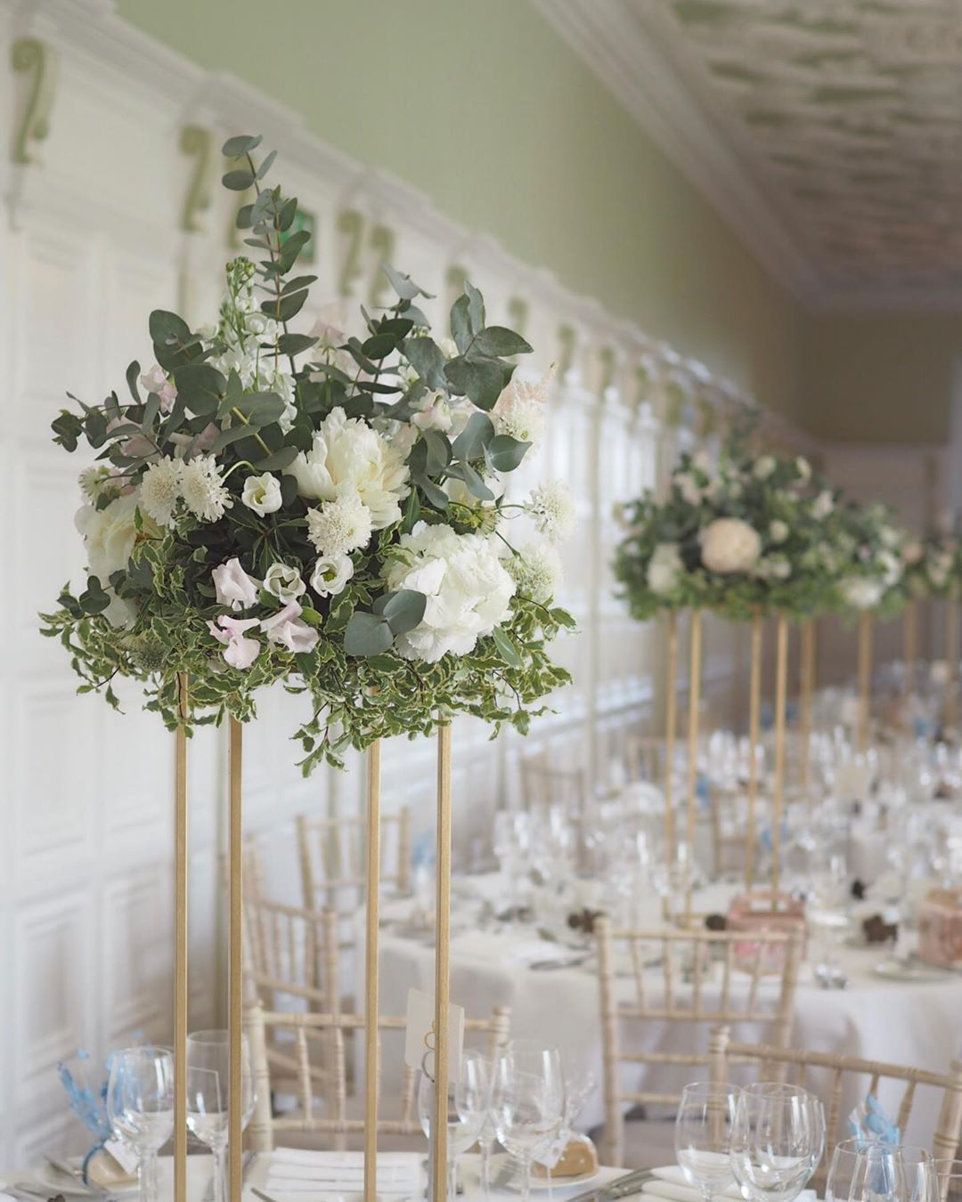 Wedding Flowers On A Budget Uk: Tall Flower Stand Centrepiece Hire UK