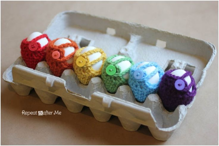 Top 10 Free Crochet Patterns For Adorable Easter Decorations | Ganchillo