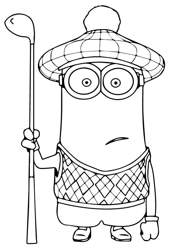 Print Coloring Image Minions Minion Coloring Pages