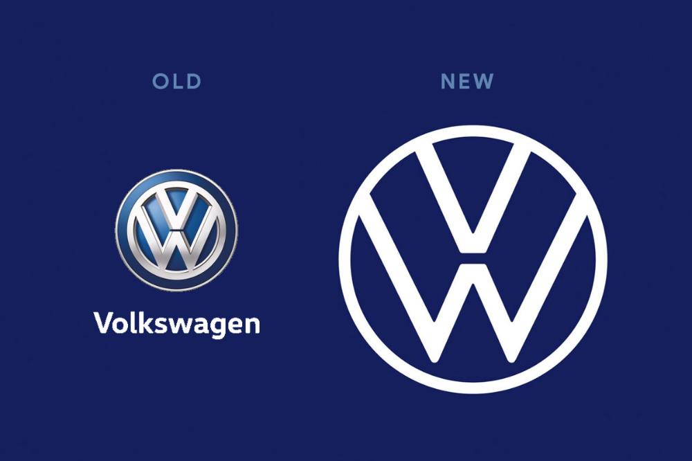 Volkswagen New Brand Identity A Perfect Example To Present Brand Design Branding Design Volkswagen Brand Identity