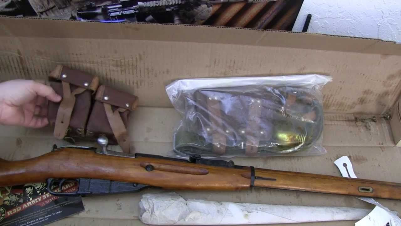 how to remove cosmoline from the mosin nagant 91 30 and dissassembly