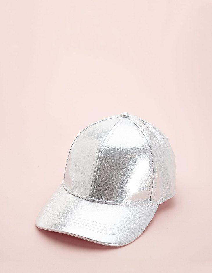 Gorra plateada - Gorros y sombreros  96a5a1545cf