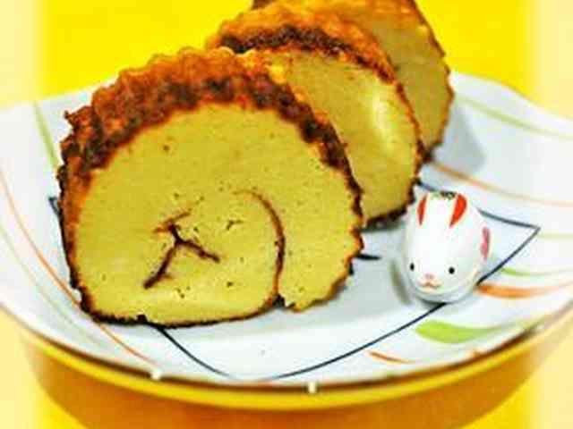 ◆豆腐とフライパン◆ヘルシー伊達巻◆の画像