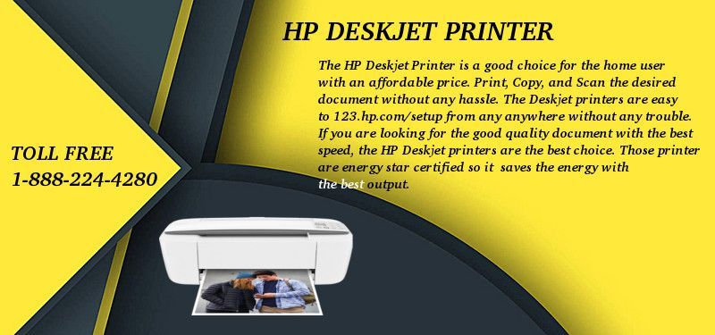 Hp deskjet printer quick and install