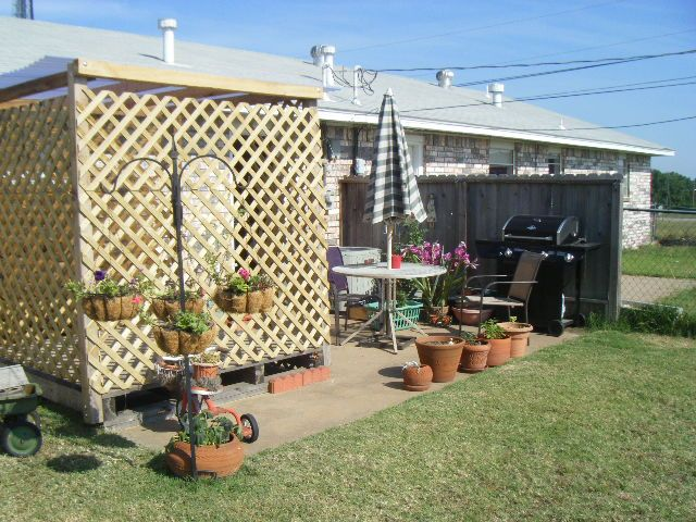 My Gazebo project...started with a pallet!