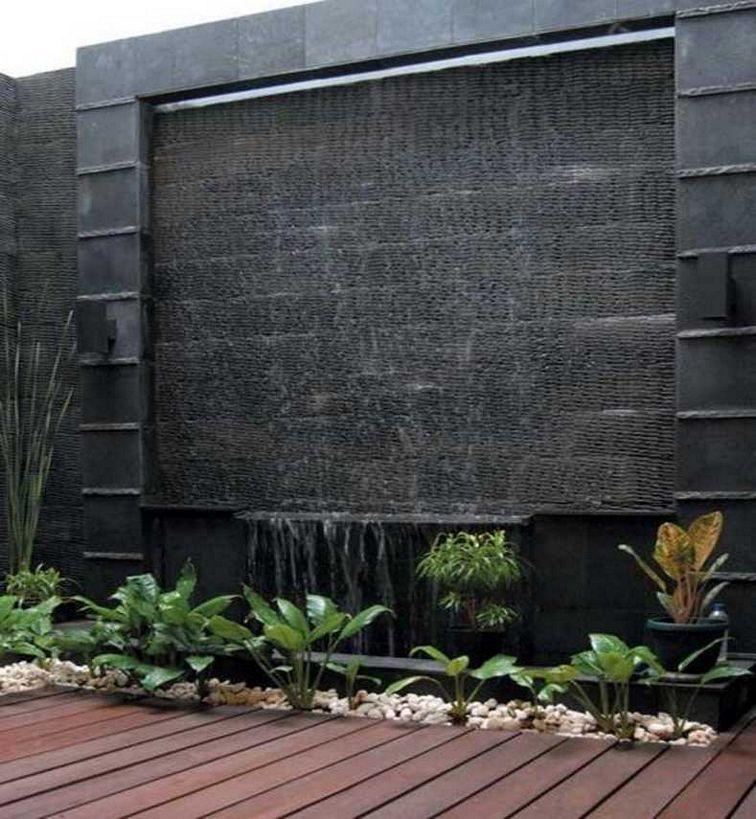Design Air Terjun Di Dinding Rumah Menarik Idenahrumah