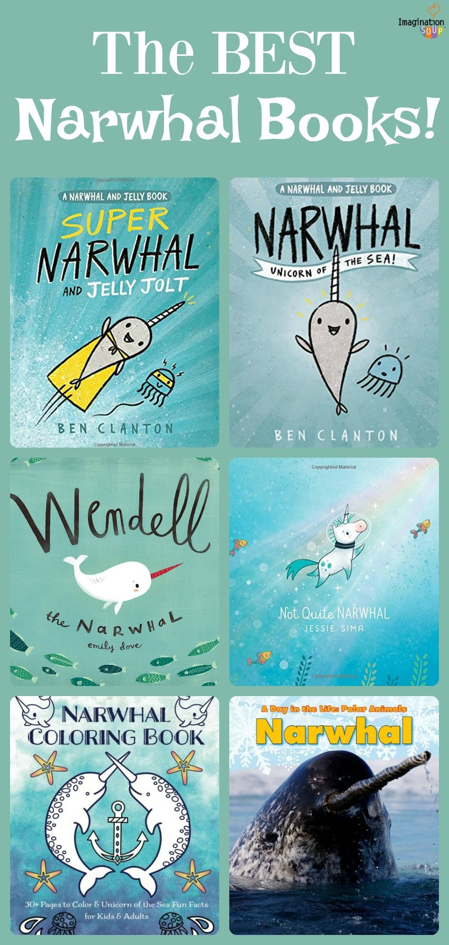 The Best Narwhal Books for Kids | Inspiration for EDUCATION ...