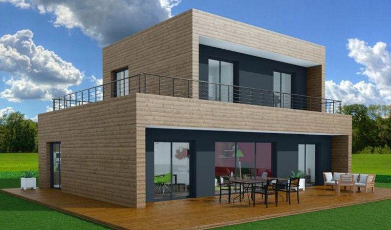booa constructeur maisons ossature bois design à prix direct - prix pour extension maison