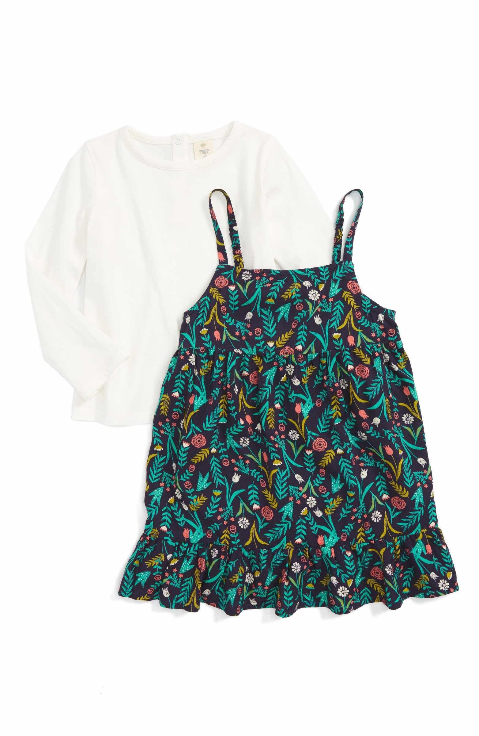 71fa1f92 Main Image - Tucker + Tate Dress & Tee Set (Baby Girls) | Barneklær ...
