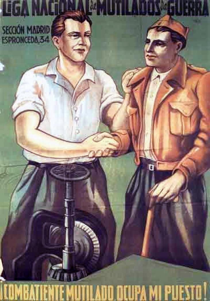 Republic propaganda poster   Spanish civil war 1936/39 #Afiches #Carteles #Spain…