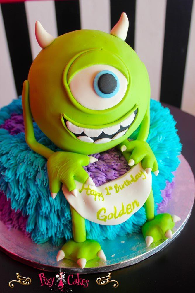 Birthday Cake Monsters Inc Kids Children Bakery Bakeries Phoenix Phx Az Arizona Avondale Glendale Peoria Surprise Litchfield Buckeye 85001 85392 Best