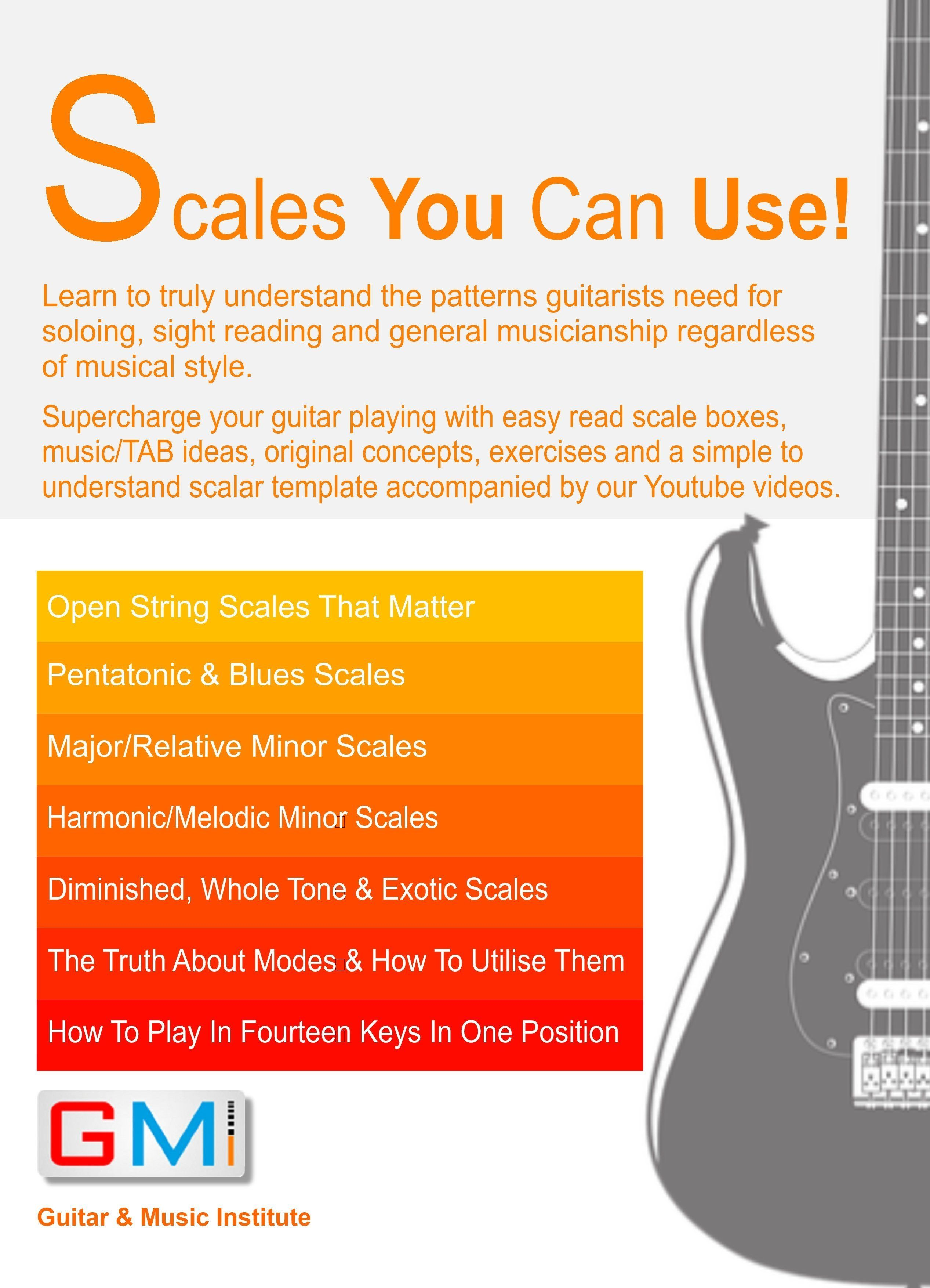 Is This The Ultimate Guitar Scale Book You Decide My Special