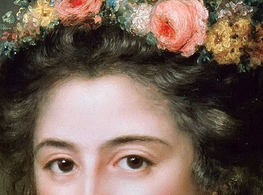 Anna Dorothea Lisiewska, Henriette Herz (art detail)