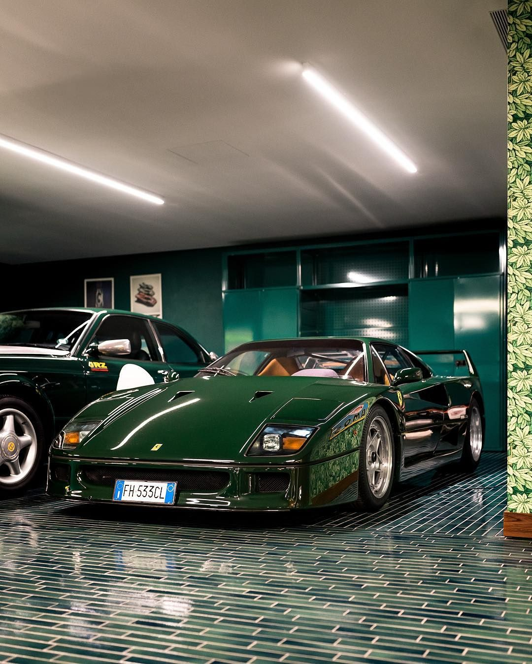 Auto Ferrari: British Racing Green, Ferrari 288