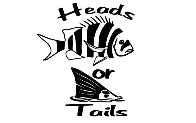 Details About Fishing Decal Sheepshead Redfish Heads Or