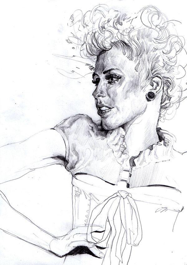 portrait part 2 on Behance
