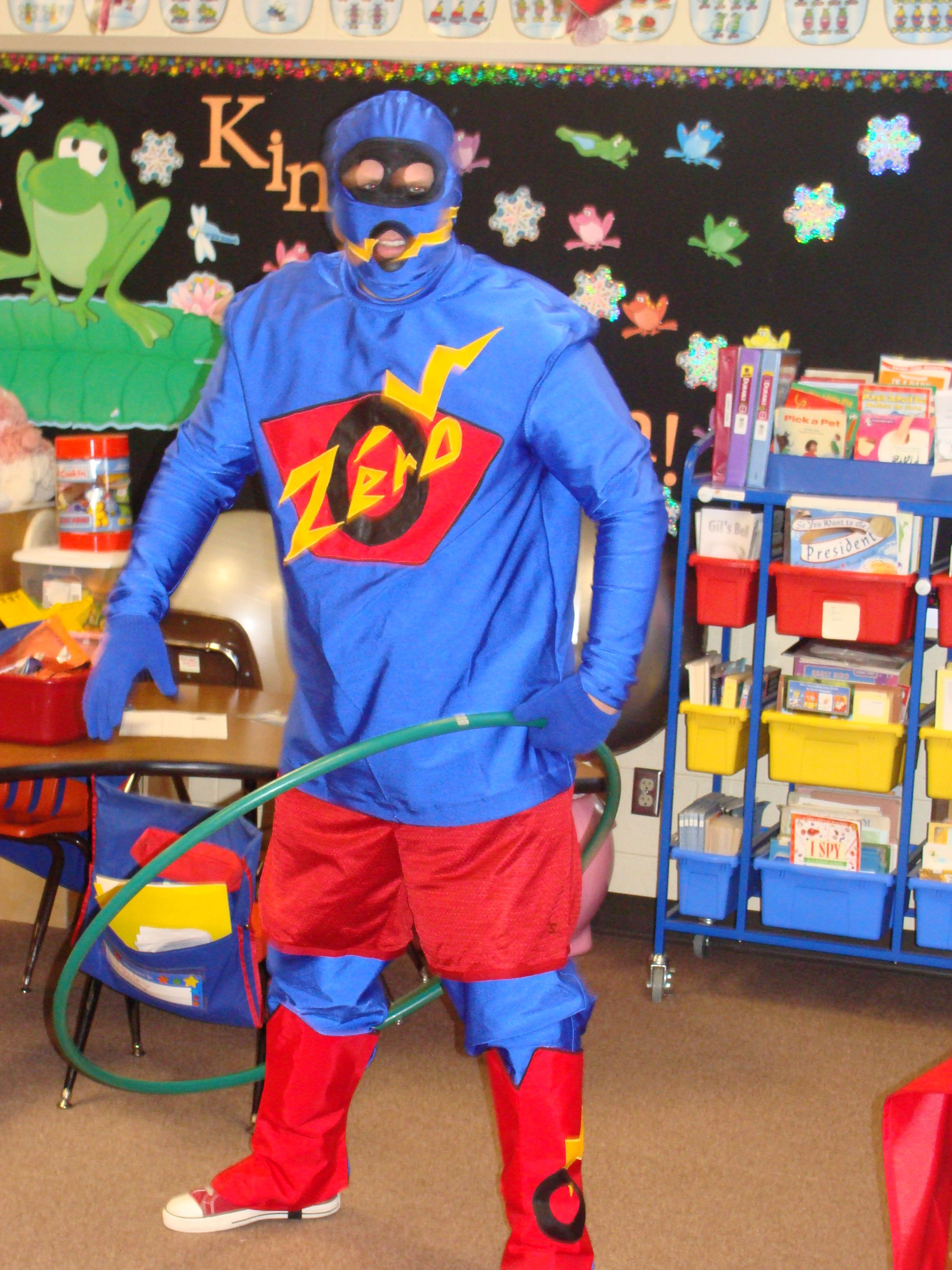 Zero The Hero Who Visits Mrs Rohr S Classroom Every Year