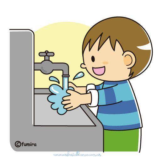 Lavandose Las Manos Animado Buscar Con Google Rutina Diaria De