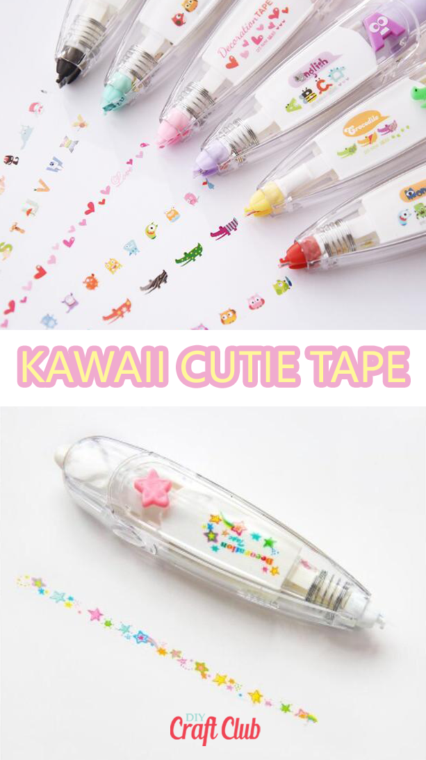Kawaii Cutie Tape Decorate your journal or planner in these ultra cute Kawaii cuties! Think of it l