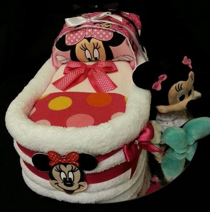 "Medium Themed Bassinet Baby Gift  Shalea Design by ""Shalea Gifts"" https://www.facebook.com/shaleagiftboxes?ref=hl"