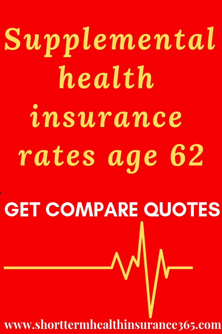 Aarp Health Insurance >> Supplemental Healthinsurance Rates Age 62 Get Compare Quotes