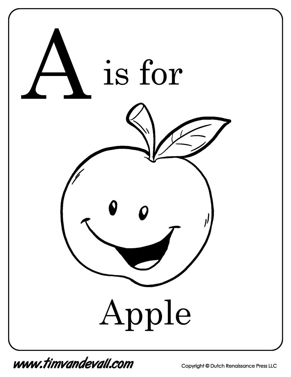 A Is For Apple Printable Jpg 927 1200 Apple Coloring Pages Letter A Coloring Pages Alphabet Coloring Pages