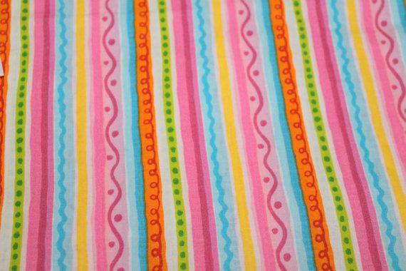 Fabric Novelty Cotton Seersucker Stripes by EmbellishByAndrea, $4.95