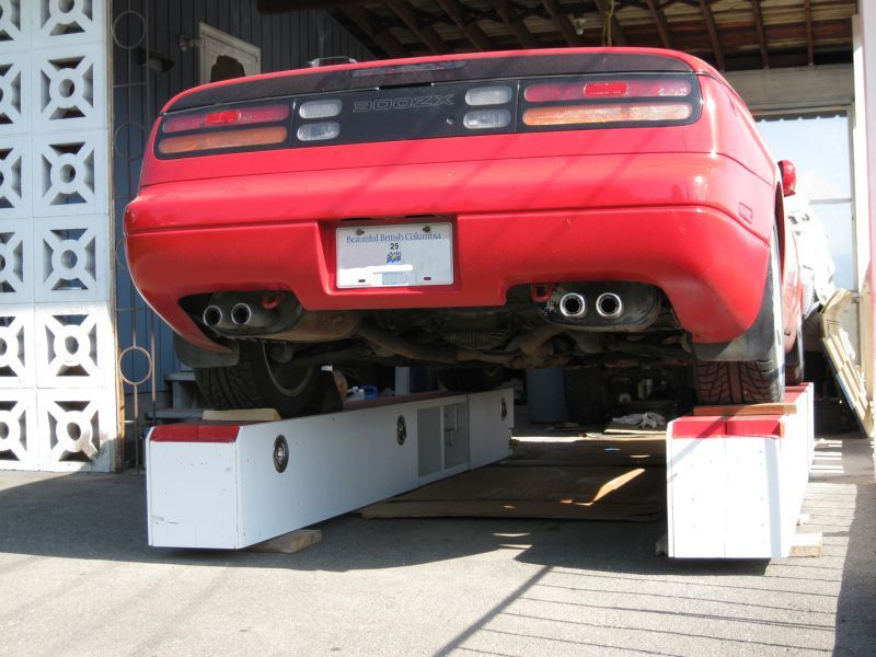 Diy Build Your Own Car Ramps Corvetteforum Chevrolet Corvette