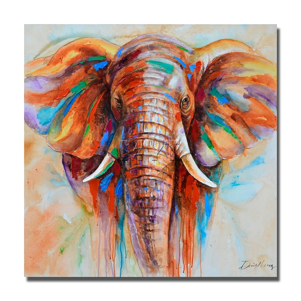 Image Result For Colorful Wild Animal Paintings Art In 2018