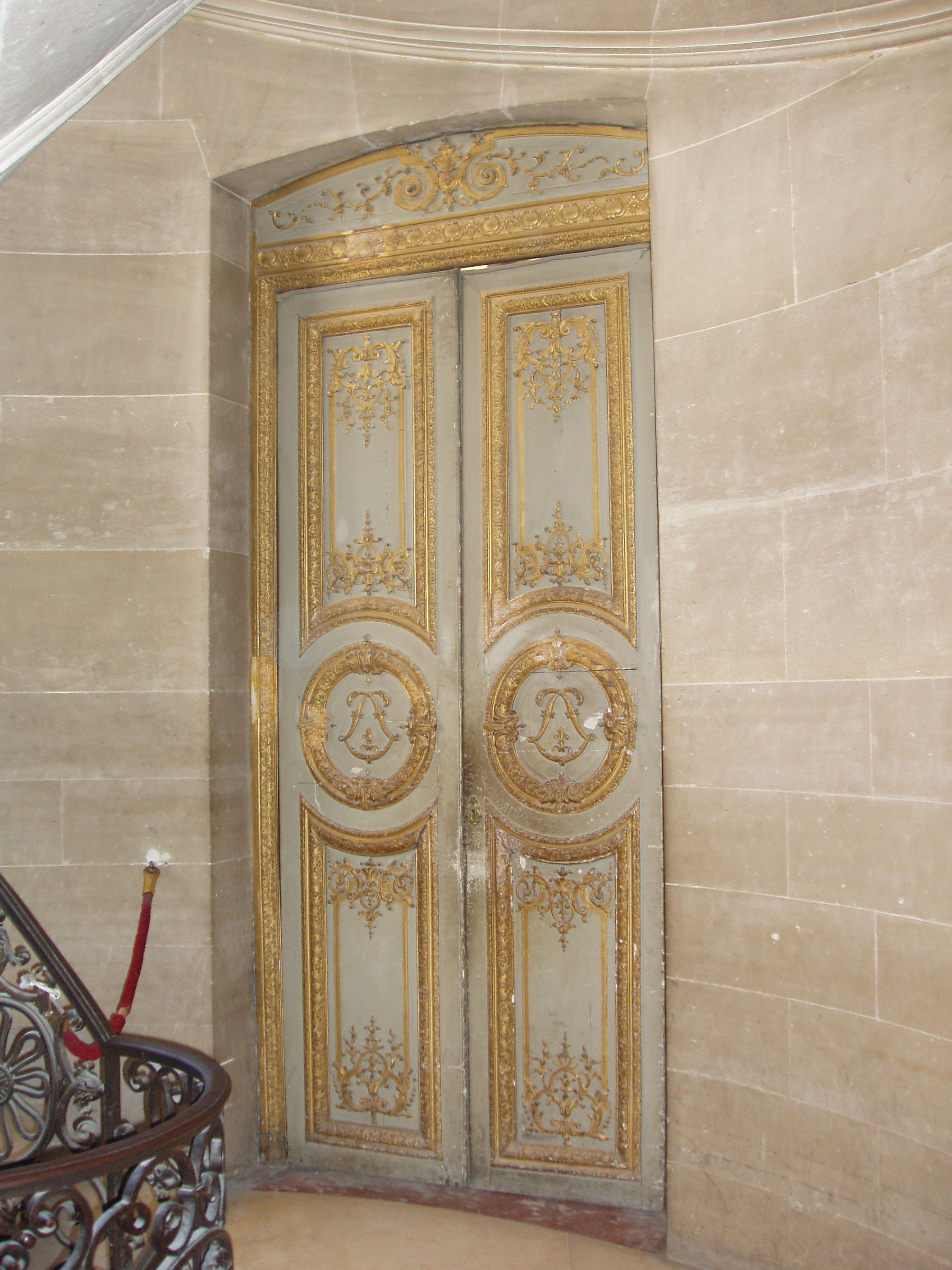 Versailles doors golden and gilded fit for a goddess #beagoddess & Versailles doors golden and gilded fit for a goddess #beagoddess ...