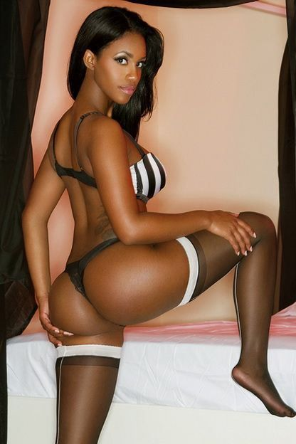 Ebony hot butt