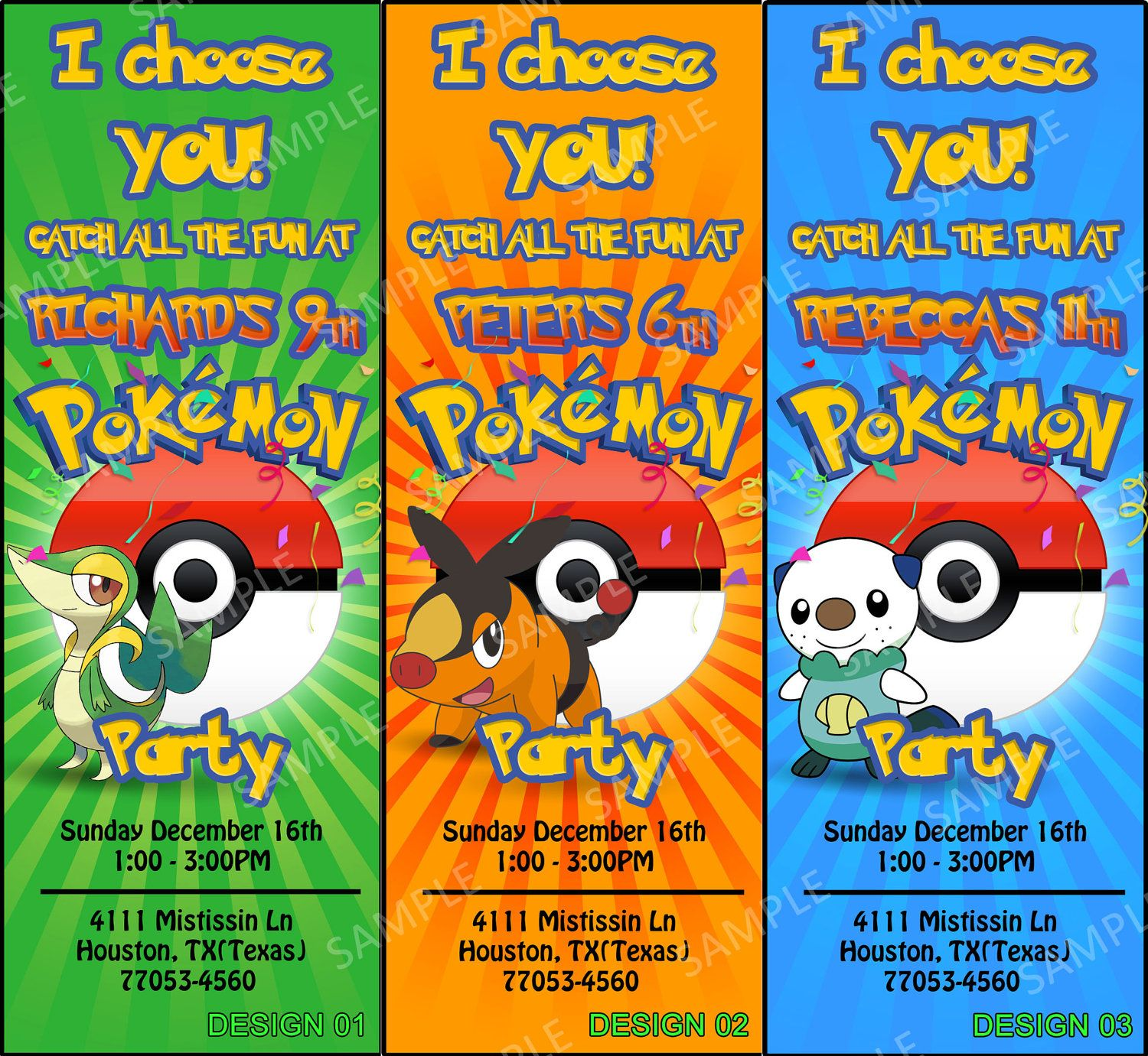 graphic about Free Printable Pokemon Invitations identify Pokemon Birthday Get together Invitation - Pokemon Ticket