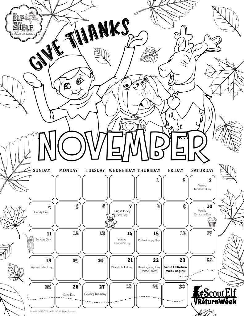scout elf craft corner diy scout elf halloween costume elf on the Indoor Scavenger Hunt Clues november 2018 printable calendar coloring pages for kids calendars for kids elf on