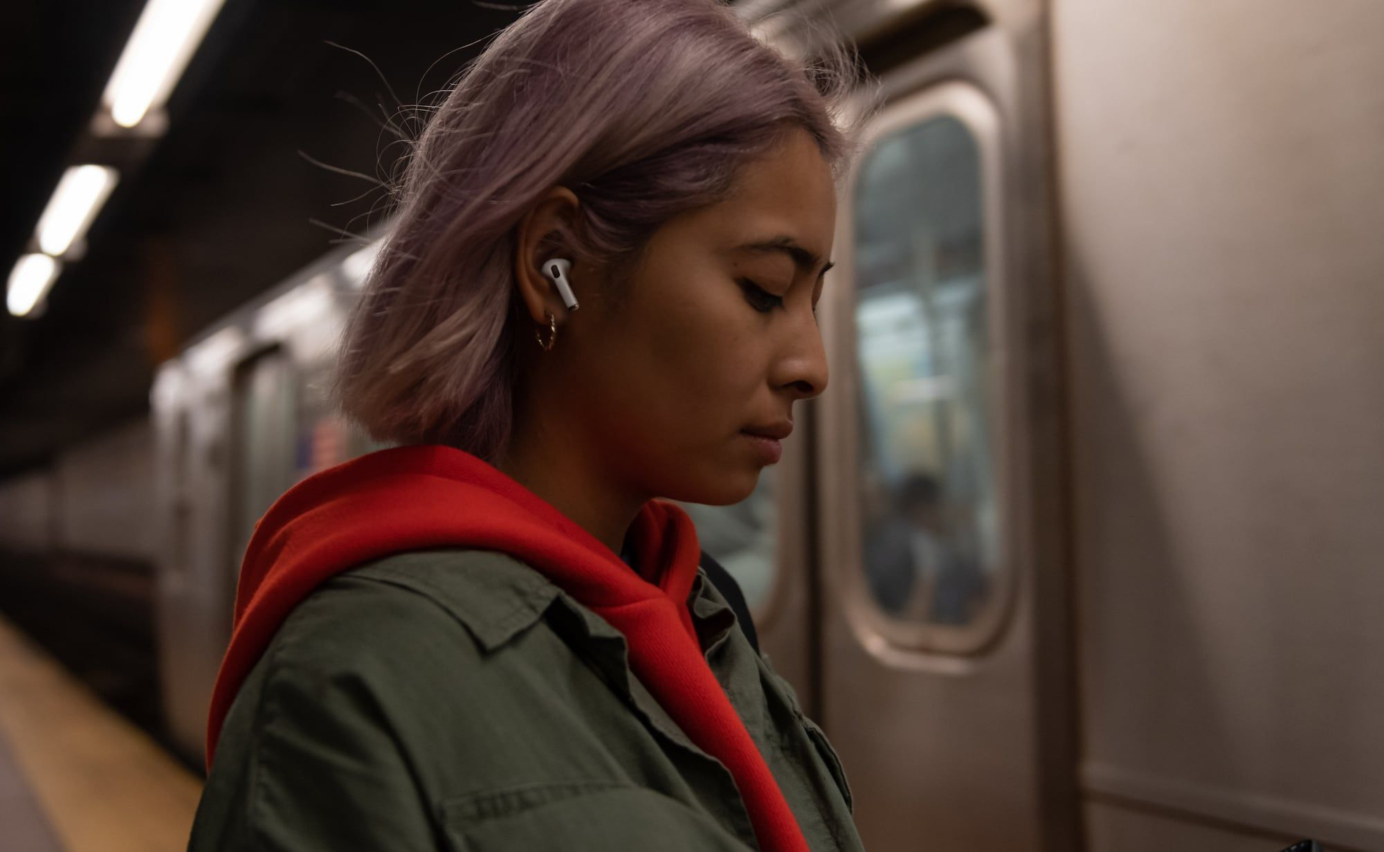 Apple Airpods Pro Immersive Earbuds Offer Dolby Atmos Spatial Audio Airpods Pro Airpod Pro Noise Cancelling