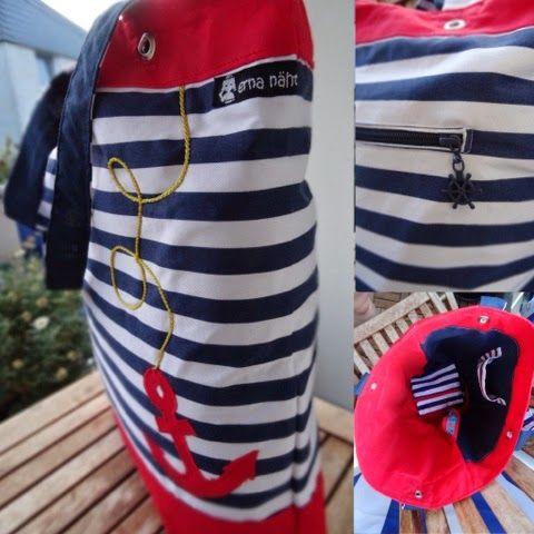 Maritime Wendy (Pattydoo)   MARITIM Taschen Applikationen ...