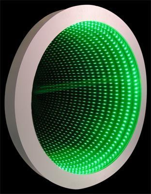 infinity mirror wall displays and infinity mirror tables spiegel pinterest. Black Bedroom Furniture Sets. Home Design Ideas