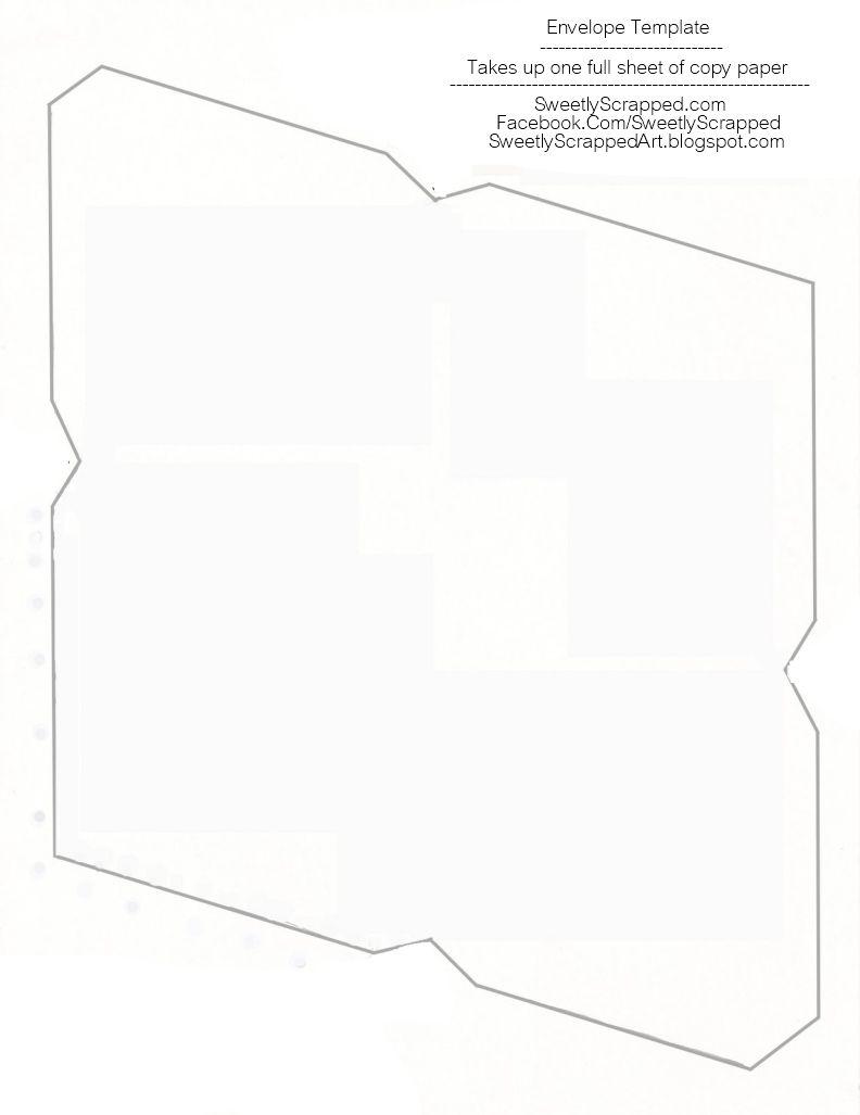 Free printable envelope templates 3d templates pinterest free printable envelope templates m4hsunfo