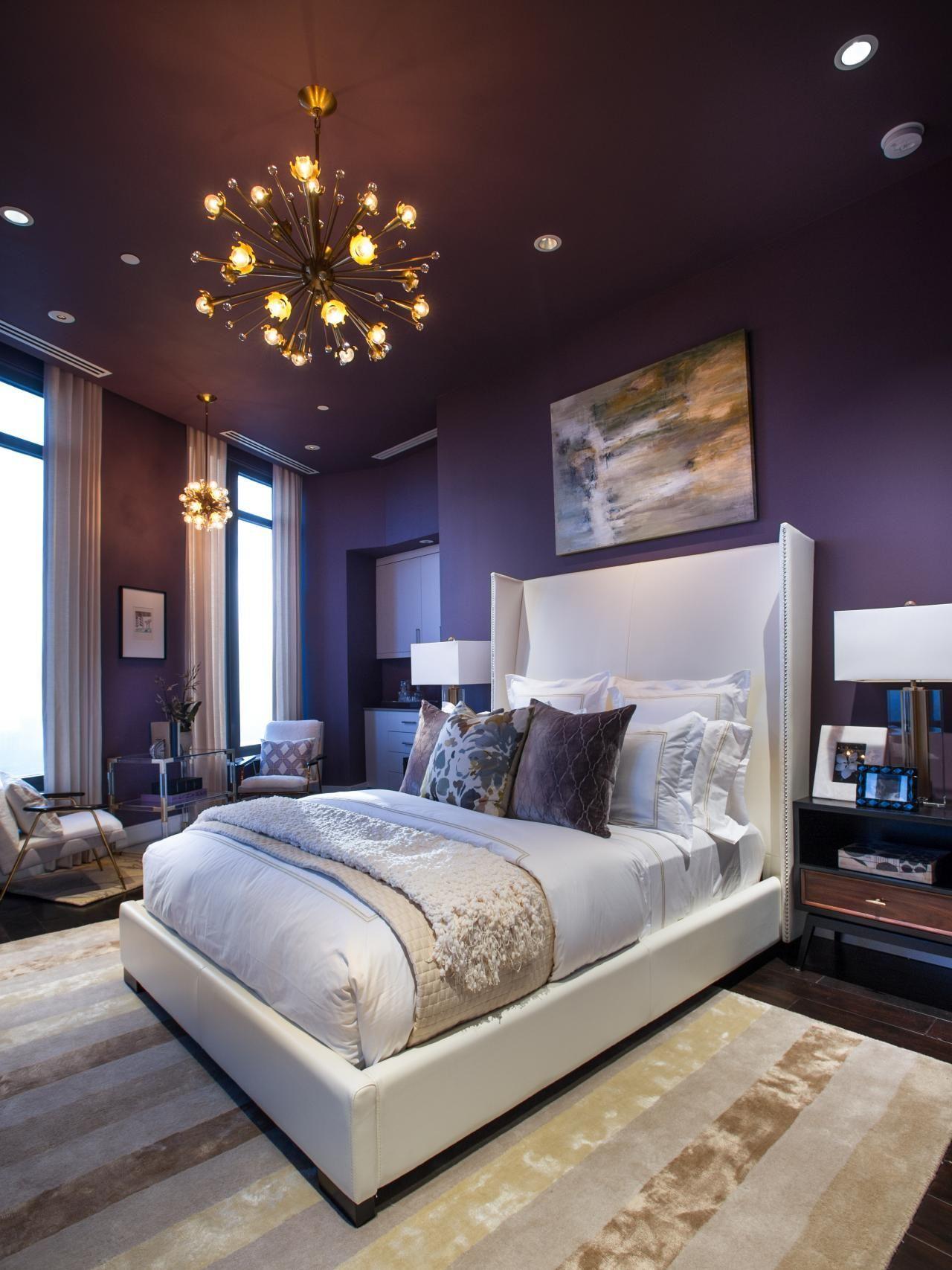 Small Bedroom Decor Bedroomwalldecor Farmhouse Bedroom Decor Romantic Bedroom Purple Master Bedroom Bedroom Paint Color Inspiration Master Bedroom Interior Bedroom paint ideas purple