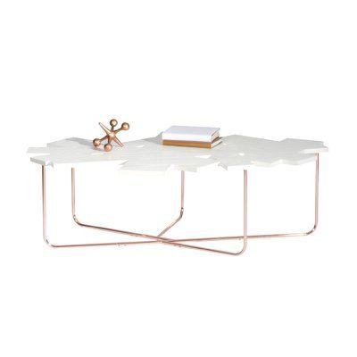 Mercury Row Cutlip Cross Legs Coffee Table Coffee Table Cool Coffee Tables Table