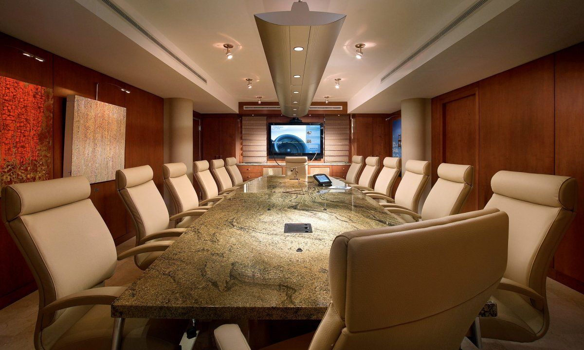 Conference Room Interior Design | one Decor | board room | Pinterest ...