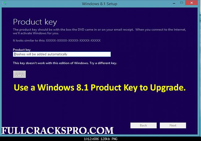 windows 8.1 pro 32 bit product key