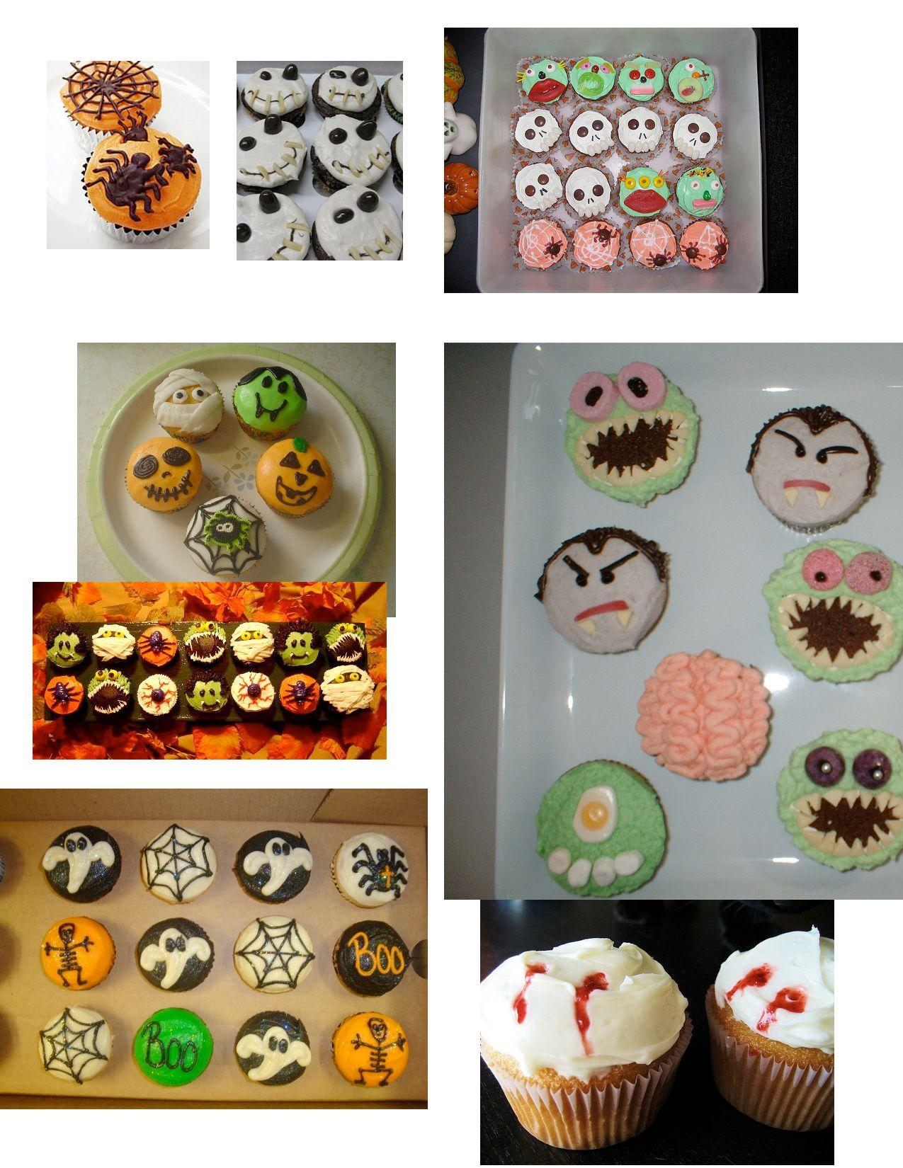 halloween cupcake ideas!