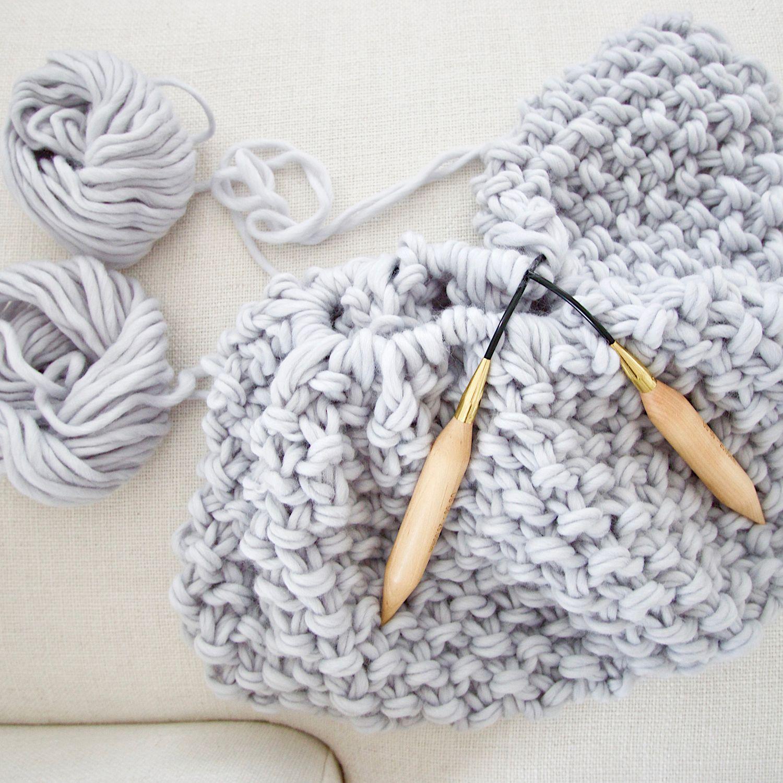 Free chunky wool blanket pattern | Cosas