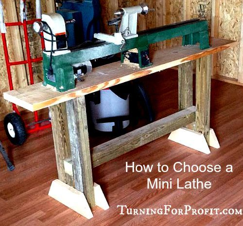 How to Choose a Mini Lathe | Tool Shed | Wood turning, Wood