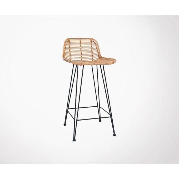 Iungla Chaise De Bar Design En Rotin 67 Cm En 2020 Chaise De