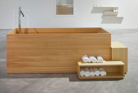 This is my kind of bath! New from Nendo: The Japanese-Inspired Bath : Remodelista