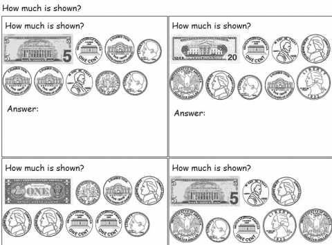 Counting money worksheet generator | Math | Money worksheets ...