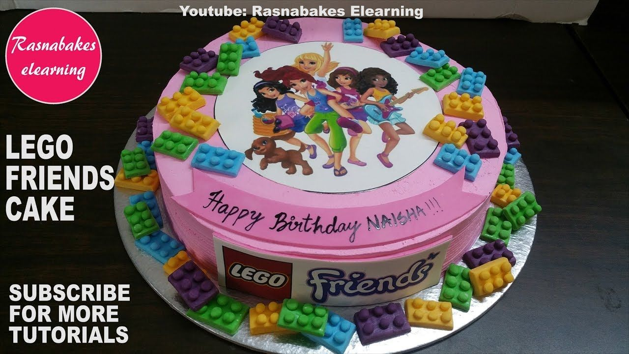 Lego Friends Girls On A Mission Birthday Cake Design Ideas For Girls Wit 10th Birthday Cakes For Girls Girl Cakes Pig Birthday Cakes