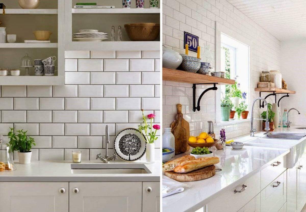 Ceramica 10X20 Biselada Metro White Importada 1Ra Cal Deco Stunning 10 X 20 Kitchen Design Review